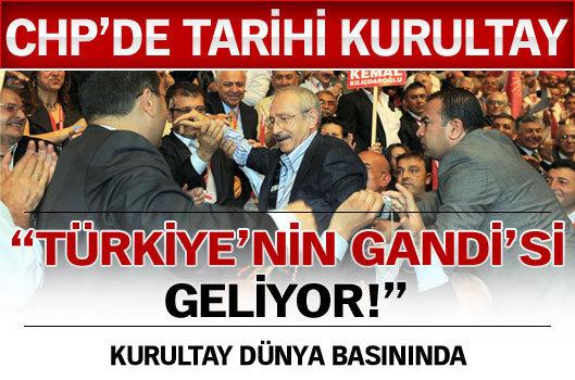 """""""Türkiye'nin Gandi'si geliyor"""""""
