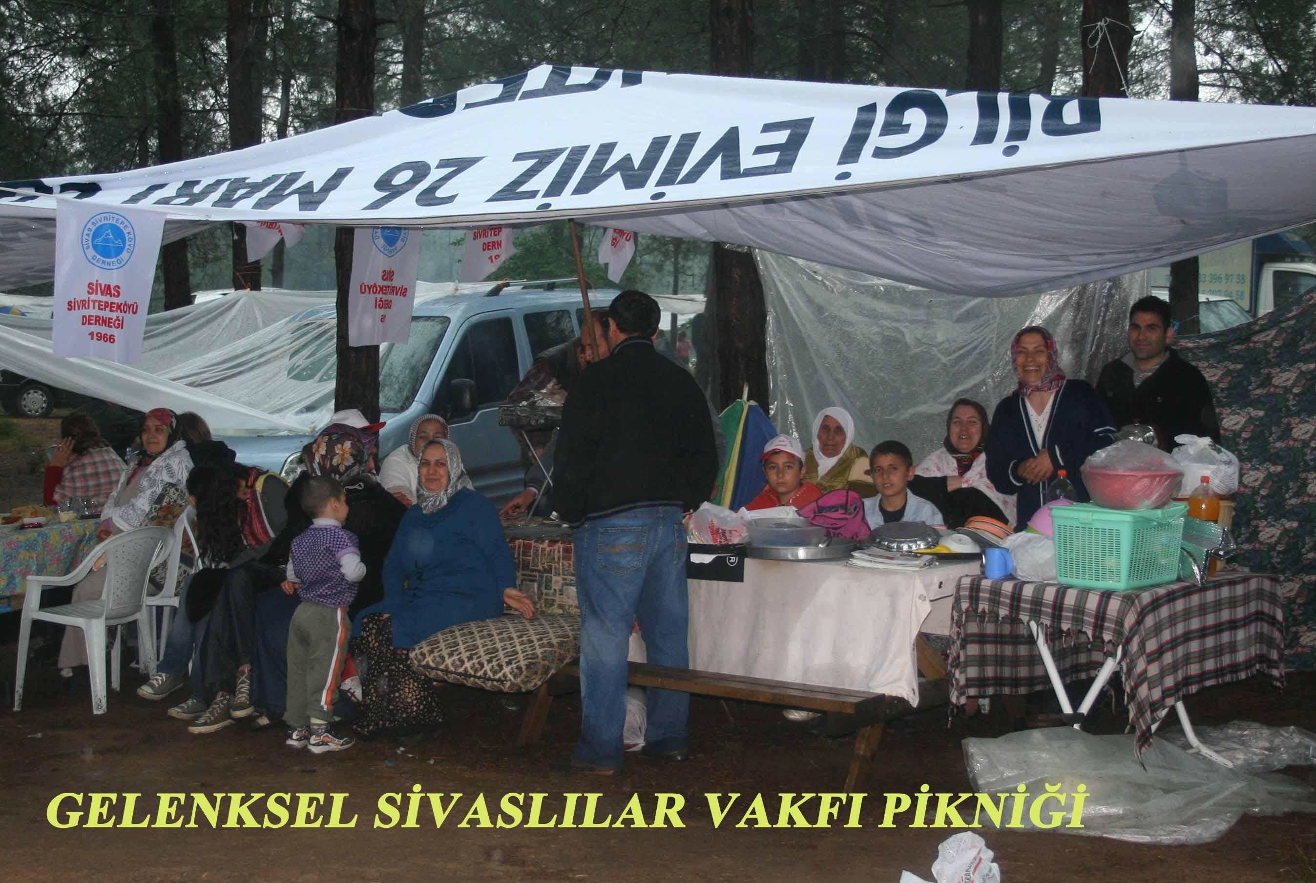 Sivaslılar bu yılda yağmura rağmen bir araya geldiler