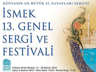 İSMEK 13. Genel Sergi ve Festivali açılıyor