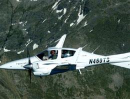 Bu uçak su yosunu ile çalışıyor
