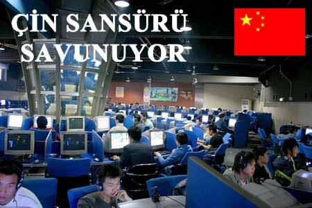 Çin Sansürü Savunuyor