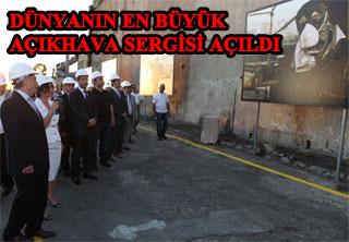 Dünyanın En Büyük Açıkhava Sergisi İstanbul'da Açıldı.