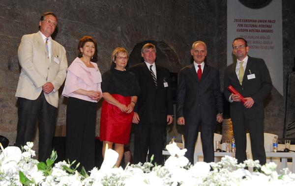 Nostra Kültürel Miras Ödülü 'Yeni Camii Hünkar Kasrı Restorasyon' projesinin oldu