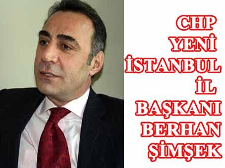CHP yeni İstanbul İl Başkanından ilk demeç