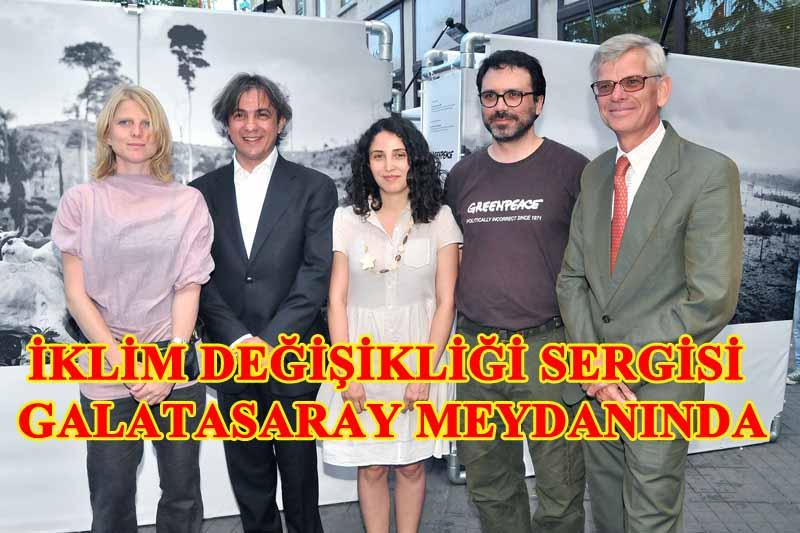 İklim Değişikliği: Sonuçlar sergisi Galatasaray Meydanı'nda açıldı