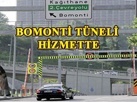 İstanbul'un ikinci 'Tünel Yolu' da hizmete girdi