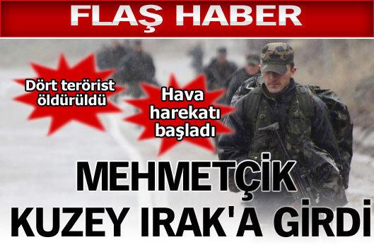 Mehmetçik Kuzey Irak'a girdi
