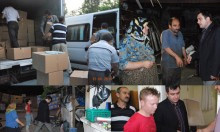 Akparti Ataşehir sel mağdurlarına yardım etti
