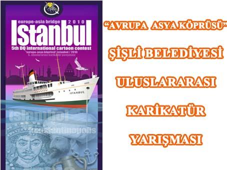 """İstanbul, """"Avrupa-Asya Köprüsü"""" Projesiyle Karikatürlerde Hayat Buluyor"""