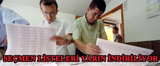 12 Eylül Referandumu için Muhtarlıklarda asılan seçmen listeleri yarın kaldırılıyor