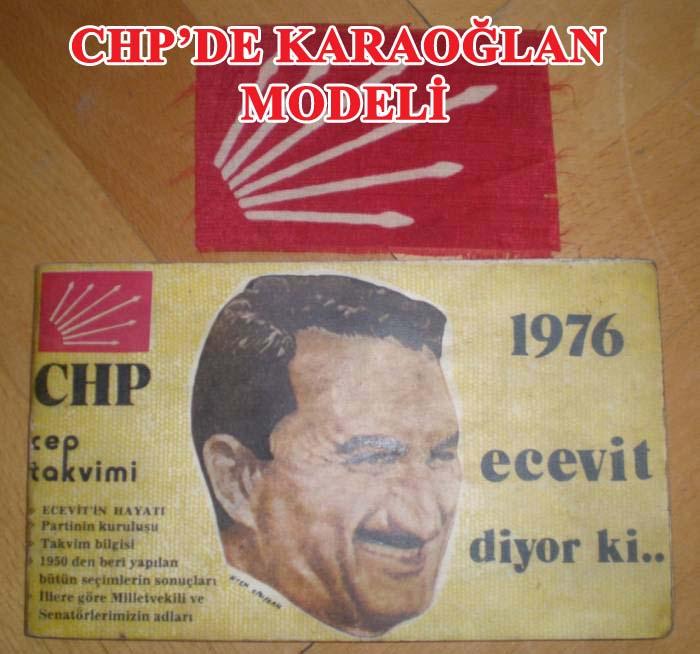Kılıçdaroğlu Karaoğlan modelini CHP'ye taşıyor