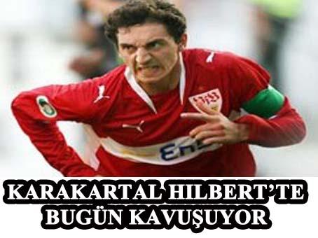 Beşiktaş Hilbert'ine bugün kavuşuyor.
