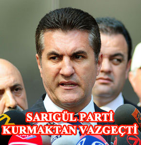 Türkiye Değişim Hareketi'nin partileşme süreci başlamadan bitti.