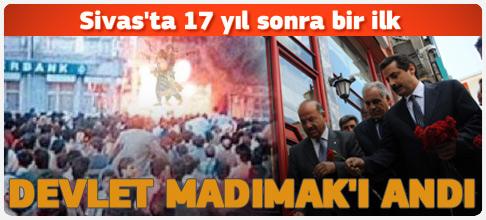 Sivas'ta 17 yıl sonra bir ilk