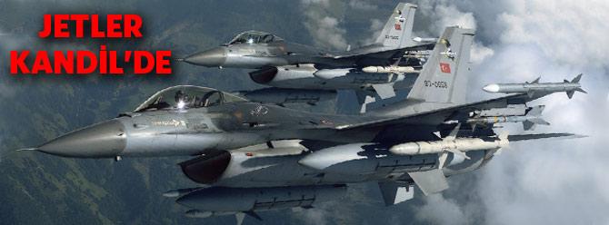 Jetler Kandil'e bomba yağdırdı