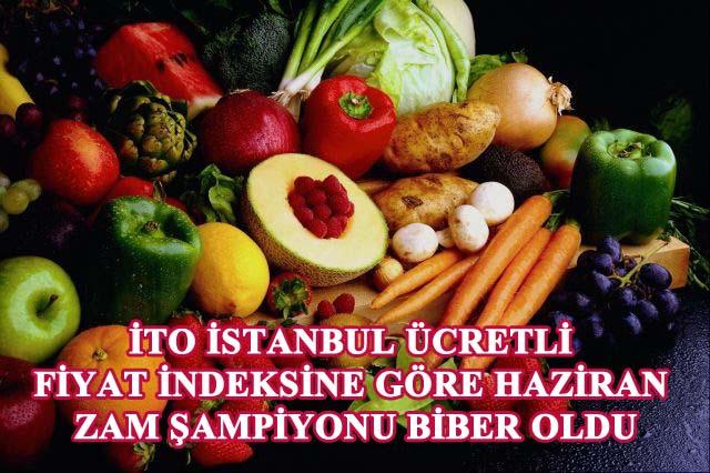İTO İstanbul için fiyatı en çok artan ve azalan tüketim maddelerini açıkladı