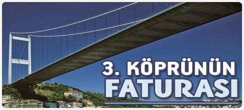 3.köprünün faturası