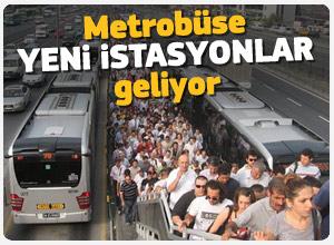 Metrobüs hattı genişliyor