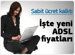 Yalın ADSL fiyatları belirlendi