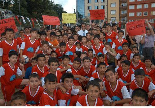 Şişli'de 2010 Yaz Spor Okulları Tüm Hızıyla Devam Ediyor