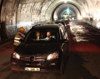 'Sarıyer-Çayırbaşı Tüneli' 2011 başında İstanbulluların hizmetinde