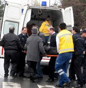 İstanbul'da askeri araç devrildi