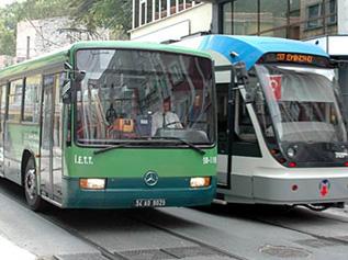 Büyük camilere özel otobüs hattı