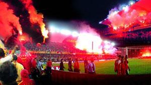 Türk futbolunun tarihi zaferlerine ev sahipliği yaptı.