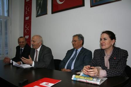 MHP Milletvekilleri Şişli'de
