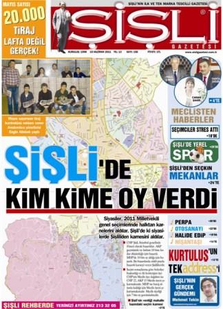 """""""ŞİŞLİ'NİN KAYNAKLARI ŞİŞLİ'DE KALMALI"""""""