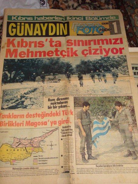 KIBRIS BARIŞ HAREKÂTI (20 TEMMUZ 1974