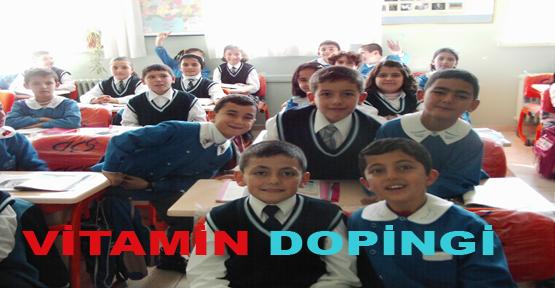 Eğitime 'Vitamin' Dopingi