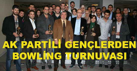 AK Partili gençlerden bowling turnuvası