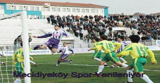 Mecidiyeköy Spor Yenileniyor