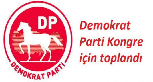 Demokrat Parti Kongre için toplandı