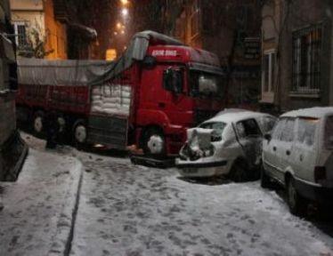 Şişli'de korkunç kaza