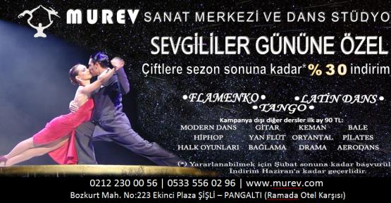 MUREV'den Sevgililer Gününe Özel Fırsatlar