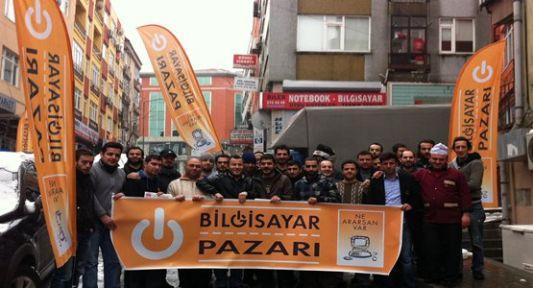 Mecidiyeköy Bilgisayar Pazarı Toplandı