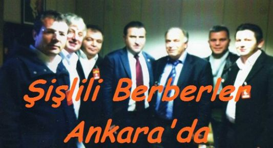 Şişlili Berberler Ankara'da