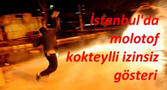 İstanbul'da İzinsiz Gösteriler