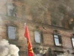 Almanya'da ikinci yangın