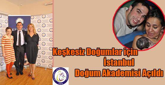 Keşkesiz Doğumlar İçin İstanbul Doğum Akademisi Açıldı