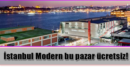 İstanbul Modern bu pazar ücretsiz!