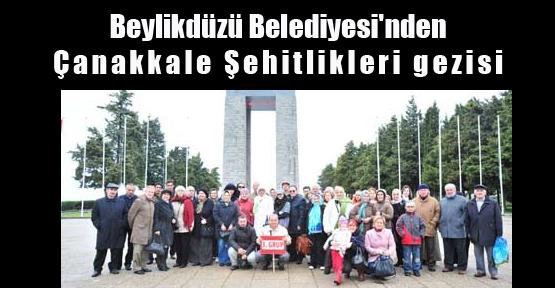 Beylikdüzü Belediyesi'nden Çanakkale Şehitlikleri Gezisi