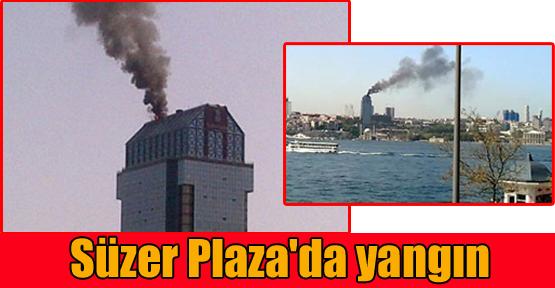 Süzer Plaza'da yangın