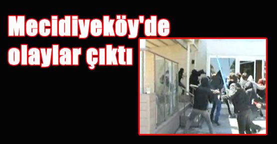 Mecidiyeköy'de Olaylar Çıktı