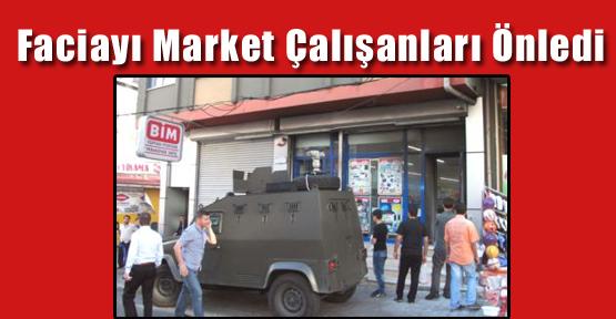 Faciayı Market Çalışanları Önledi