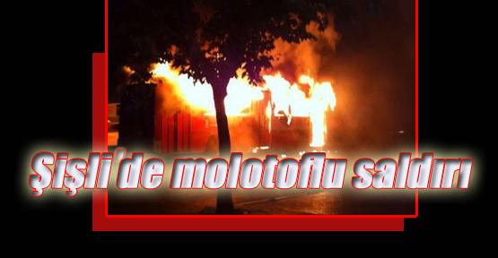 Şişli'de 2 Markete Molotoflu Saldırıya Uğradı