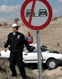 Kazadan sonra polis beklenmeyecek