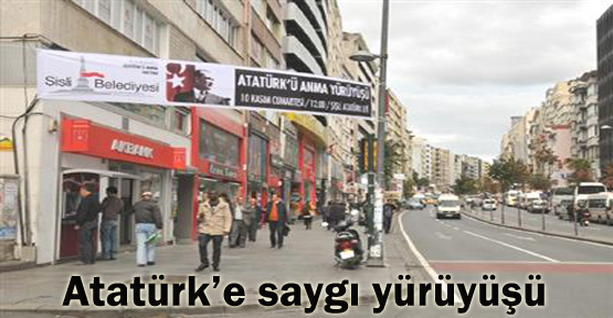 """""""Atatürk'e Saygı Yürüyüşü"""""""